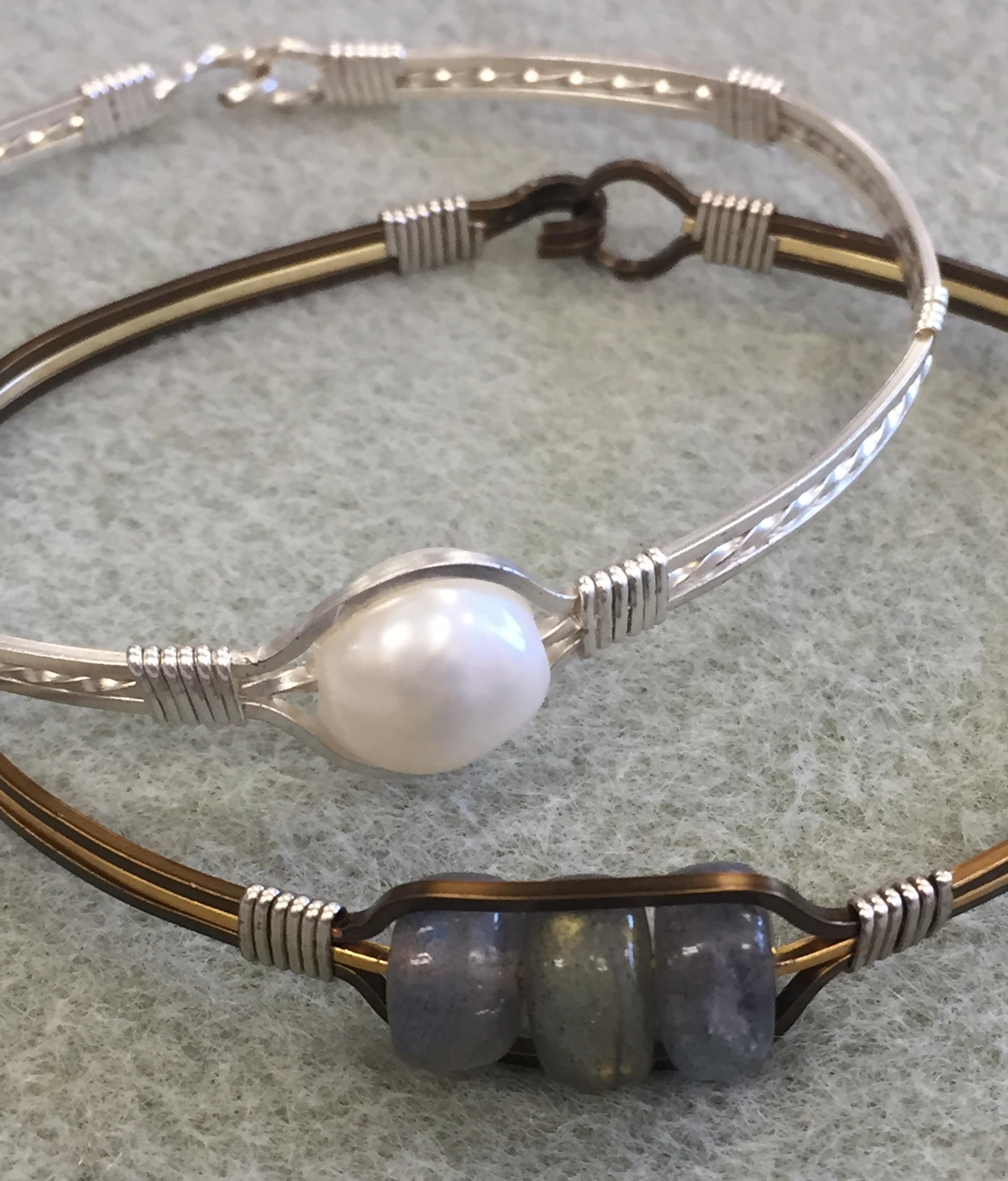 Wire Bracelet Village Beads